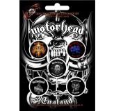 Motorhead Button Badges 5 Komada BADGE