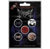 Mayhem Button Badges 5 Komada BADGE