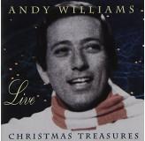 Andy Williams Christmas Treasures Live CD
