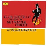 Elvis Costello My Flame Burns Blue Blue Vinyl 180Gr LP2