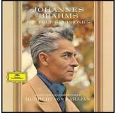 Herbert Von Karajan Brahms Four Syphonies Limited LP4
