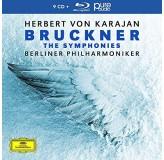 Herbert Von Karajan Bruckner The Symphonies CD9+BLU-RAY