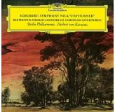 Herbert Von Karajan Schubert Symphony No.8 unfinished LP