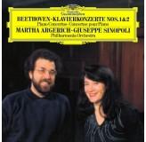 Martha Argerich Beethoven Klavierkonzerte Nos.1&2 LP2