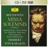 Herbert Von Karajan Beethoven Missa Solemnis CD+BLU-RAY AUDIO