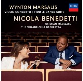 Wynton Marsalis Nicola Benedetti Violin Concerto, Fiddle Dance Suite CD