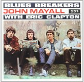John Mayall With Eric Clapton Blues Breakers LP