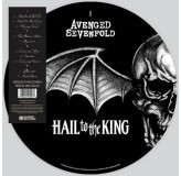 Avenged Sevenfold Hail To The King Picture Vinyl LP2