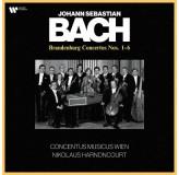 Nikolaus Harnoncourt Bach Brandenburg Concertos Nos. 1-6 LP2