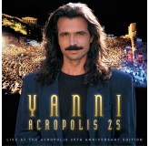 Yanni Acropolis 25 CD+DVD+BLU-RAY
