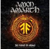 Amon Amarth Pursuite Of Vikings CD+BLU-RAY