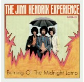 Jimi Hendrix Experience Burning Of The Midnight Lamp, Crosstown Traffic Rds Issue 7SINGLE