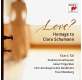 Yaara Tal Love Homage To Clara Schumann CD