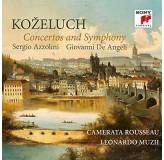 Sergio Azzolini Giovanni De Angeli Kozeluch Concertos And Symphony CD