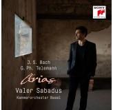 Valer Sabadus Bach, Telemann Arias CD