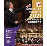 Riccardo Muti Wiener Philharmoniker New Years Concert 2021 BLU-RAY