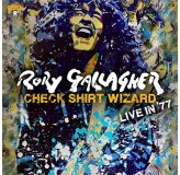 Rory Gallagher Check Shirt Wizard Live In 77 LP3