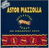 Astor Piazzolla 20 Greatest Hits CD