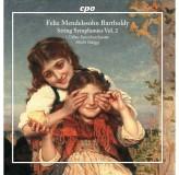 Lorfeo Barockorchester Mendelssohn Bartholdy String Symphonies Vol.2 CD