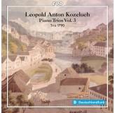 Trio 1790 Kozeluch Piano Trios Vol.3 CD