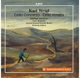 Raphael Wallfisch Weigl Cello Concerto, Cello Sonata CD