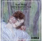 Thomas Christian Ensemble Weigl String Quartets 7&8 CD