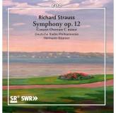 Hermann Baumer Deutsche Radio Philharmonie Strauss Symphony Op.12 CD