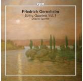 Diogenes Quartett Gernsheim String Quartets Vol.1 CD