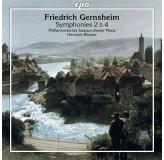Philharmonisches Staatsorchester Mainz Gernsheim Symphonies 2&4 CD