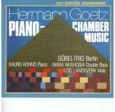 Gobel Trio Berlin Goetz Piano Chamber Music CD2