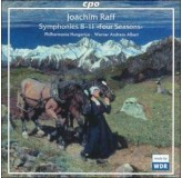 Werner Andreas Albert Raff Symphonies 8-11, Four Seasons CD2