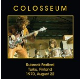 Colosseum Ruisrock Festival Turku, Finland, August 22. 1970 CD