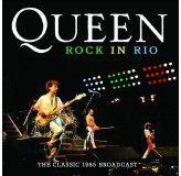 Queen Rock In Rio Classic 1985 Broadcast CD