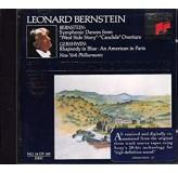 Leonard Bernstein New York Philh Bernstein, Gershwin Symphonic Dances, Rhapsody In Blue CD