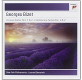 Leonard Bernstein New York Philharmonic Bizet Carmen Suites 1, 2 CD