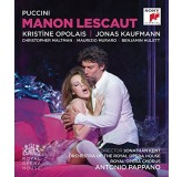 Jonas Kaufmann Pappano Puccini Manon Lescaut BLU-RAY