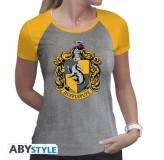 Majica Harry Potter Hufflepuff T-Shirt, Xxl, Grey MAJICA