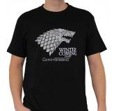 Majica Game Of Thrones Stark - Winter Is Coming T-Shirt, Xxl, Black MAJICA