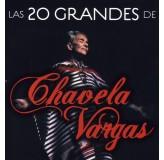 Chavela Vargas Las 20 Grandes De Chavela Vargas CD
