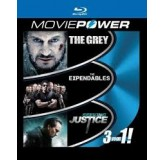 Movie Movie Powerthe Grey, Expendables, Seeking Justice Nema Hr Podnaslov Blu BLU-RAY3