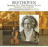 Herbert Von Karajan Beethoven Symphony No. 2 LP