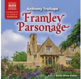 David Shaw-Parker Trollope Framley Parsonage Audiobook CD17